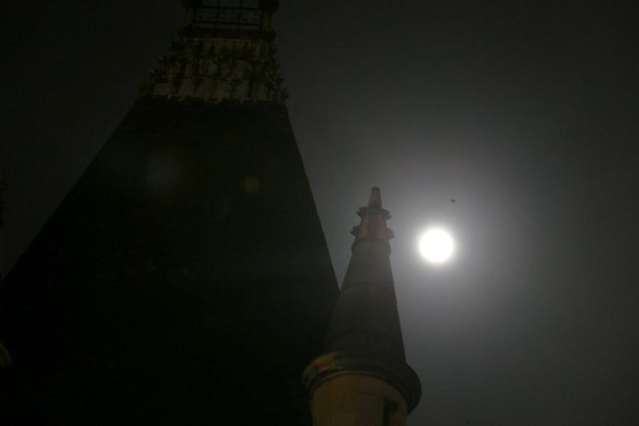 """世界多地迎""""超级月亮"""" - 暖雪8521 - 暖雪8521"""