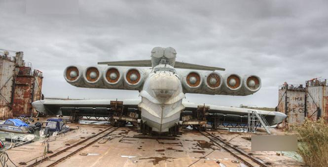 美軍噩夢:前蘇聯'裏海怪物'地效飛行艇再次現身