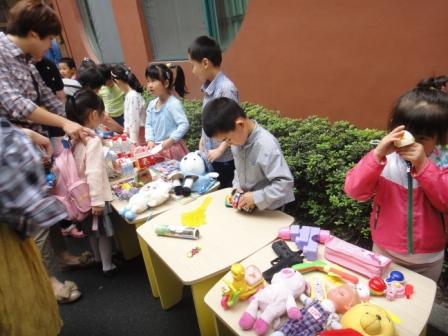 儿童跳蚤市场 做买卖交朋友