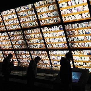 南京大屠杀遇难同胞纪念馆 历史的印记[组图]