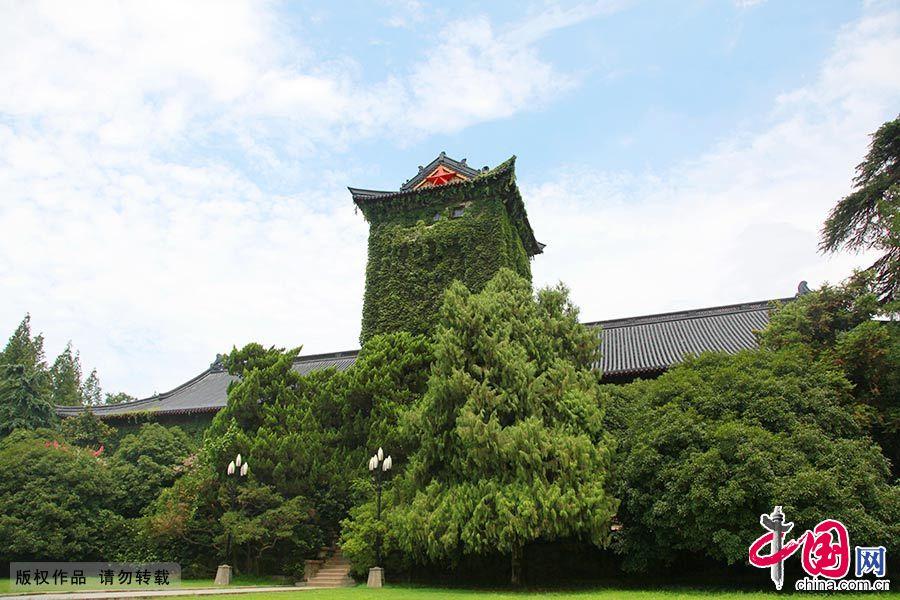 南京大学北大楼,坐落于南京大学鼓楼校区。