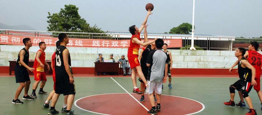 超威集团组建男子篮球队 丰富员工生活