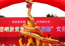 """云南呈贡欢度""""花都""""文化节"""