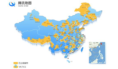 腾讯地图街景新增14城市,千年岳阳楼网上登临