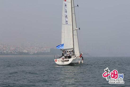 2014青岛帆船周海洋节扬起起友谊的风帆