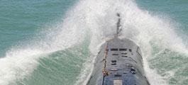中国海军潜艇部队海上训练