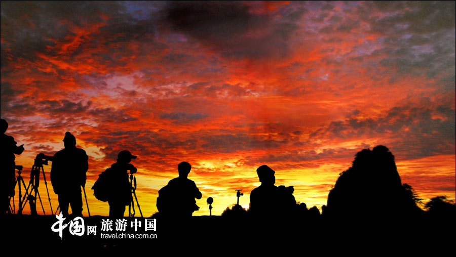中国黄山,最经典的旅游线路(高清组图)