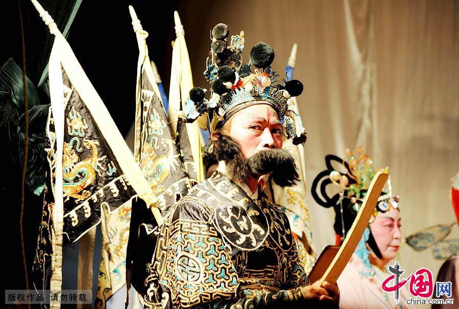 """孟戏是一种以孟姜女哭长城为题材,用高腔演唱的戏曲,又名""""盱河戏"""",约起源于明初,至今已传承了500余年"""
