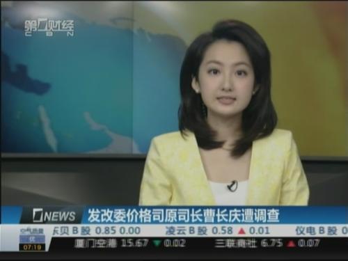 发改委价格司原司长曹长庆被带走调查_ 视频中