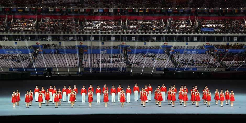 直播:第二屆夏季青年奧林匹克運動會28日晚閉幕[組圖]