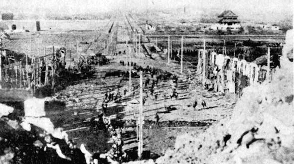 国家档案局发布《浴血奋战》第八集:南京保卫战