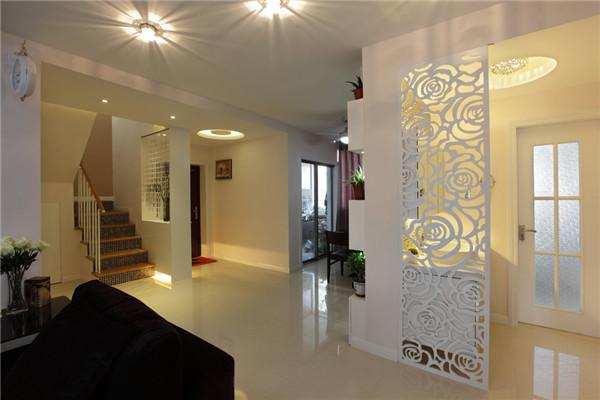 120平现代简约风格挑空层复式房装修