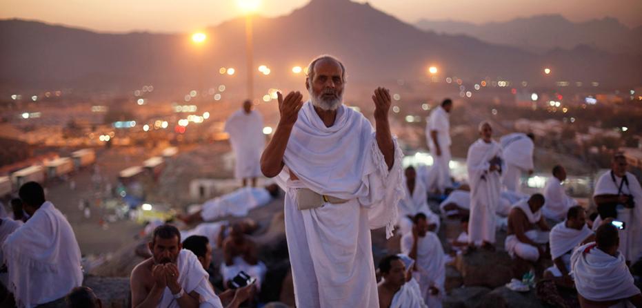 2013年朝觐:全球穆斯林齐聚阿拉法特山