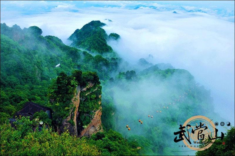 地理中国:武当山,令人惊叹的销魂美景