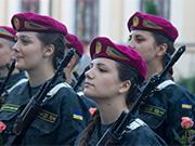 烏克蘭國民衛隊女兵:戰爭讓女人站出來