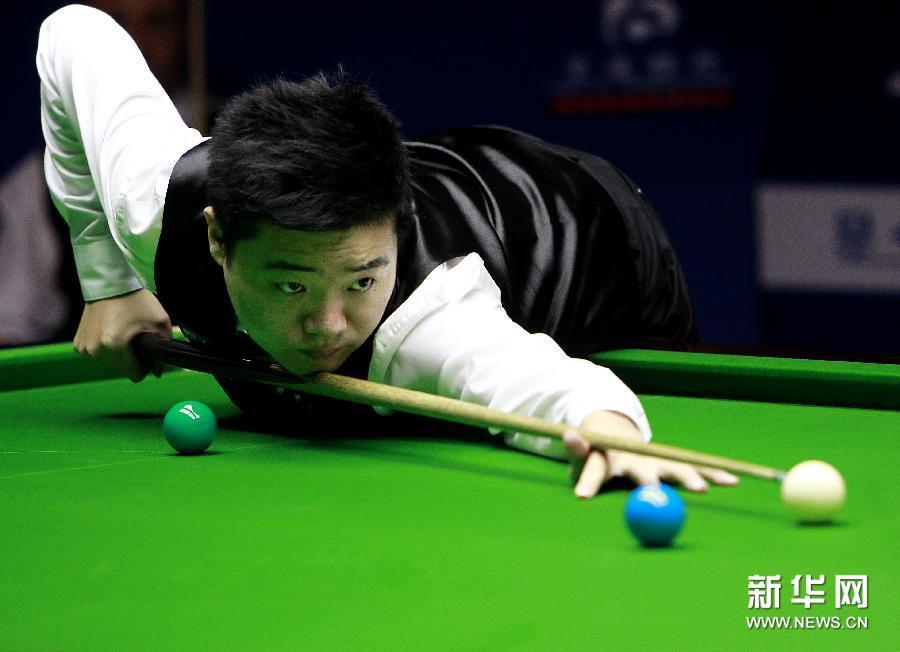 (体育)(3)斯诺克——上海大师赛:丁俊晖晋级