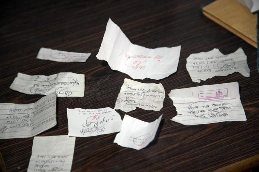 图片故事:尼泊尔的粮食危机 - 人在上海    - 中国新闻画报