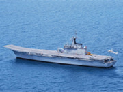 泰國軍演罕見出動唯一現役航母