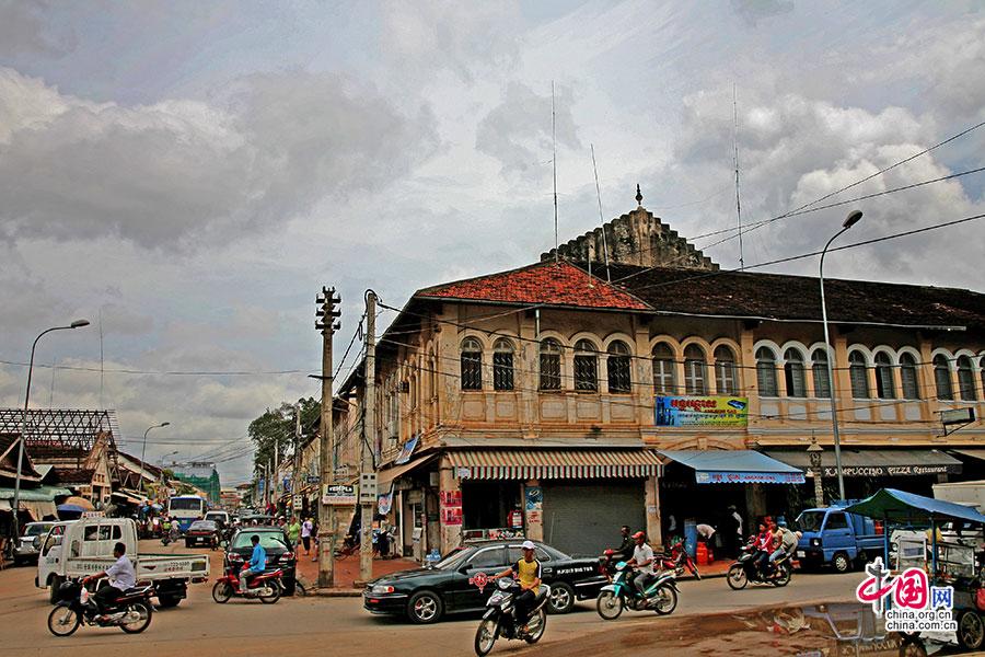 殖民时期的建筑散发出古旧的岁月感