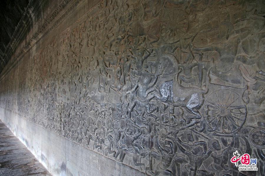 印度两大史诗《罗摩衍那》和《摩诃婆罗多》浮雕