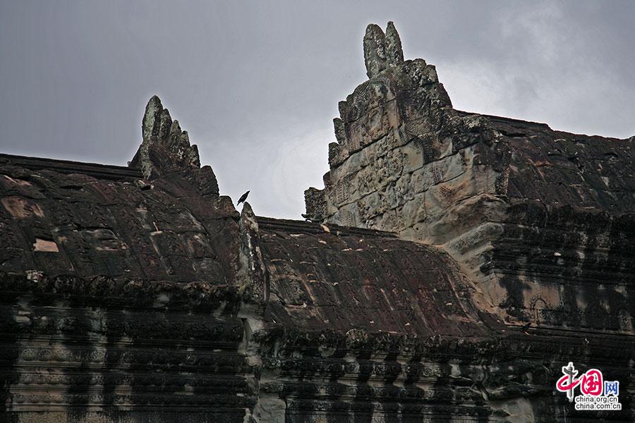 高棉风格的屋顶