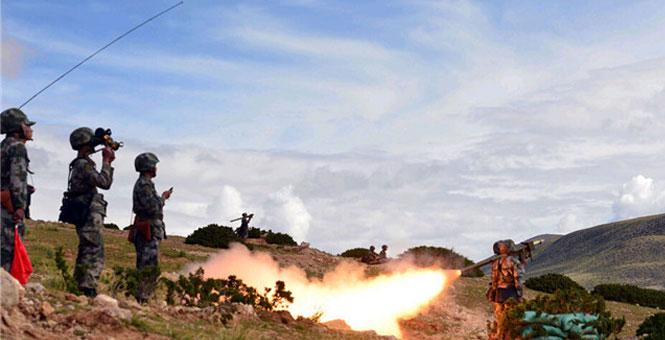 全程直擊!西藏軍區某旅防禦反擊作戰演習