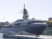日本海自艦隊出現在雪梨港口