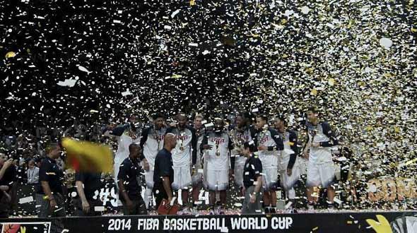 美国队篮球世界杯夺冠