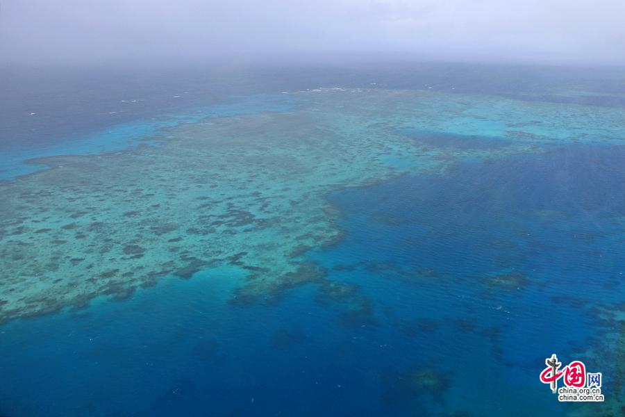奇特澳秘(十四)大堡礁,上天下海的動人之美
