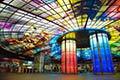 全球最美地铁站之一 台湾美丽岛站