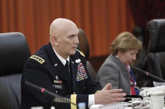 美軍官促國會謹慎削減國防開支稱削弱美軍實力
