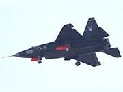 沈飛殲31戰機最新試飛照曝光 發動機一黑一白