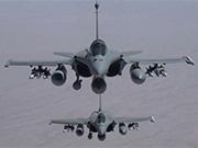 """法國軍機空襲伊""""伊斯蘭國""""目標"""