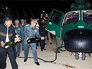 玻利維亞陸軍接收中國H425直升機 總統親自出席