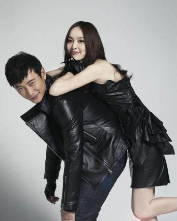 唐嫣与罗晋写真(资料图)