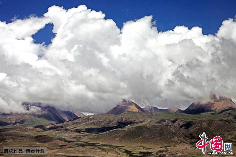 云 青藏 高原 高山 99335