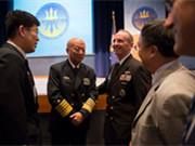 吳勝利在美參加海上力量研討會
