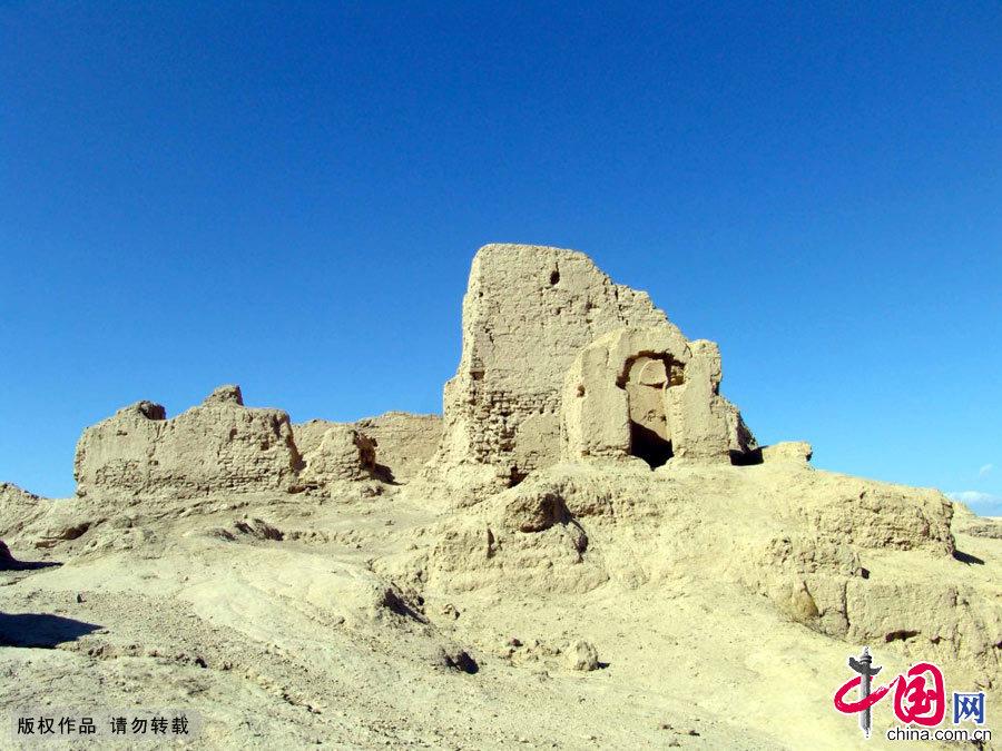 新疆哈密白杨沟佛寺遗址