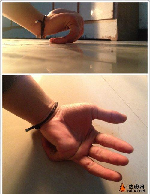 手指搞笑创意图片_生活频道