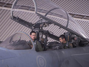 沙特王子駕戰機空襲敘利亞境內IS目標