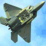 """美國F-22""""猛禽""""戰鬥機"""