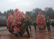 四川举行烈士公祭活动