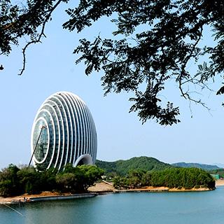 北京APEC举办地——雁栖湖 象征和谐统一[组图]