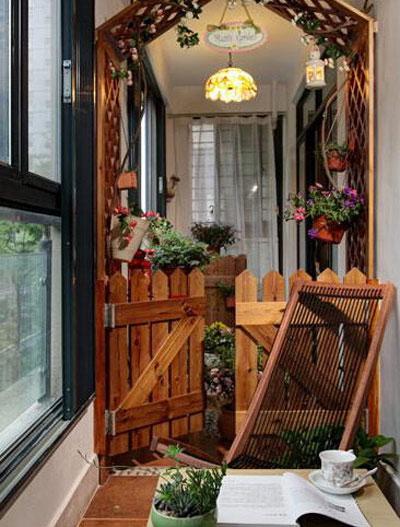让家裏多出一个休息区 15图阳台空间多休闲