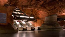 遇见梦幻地下铁 围观世界千奇百怪的地铁站