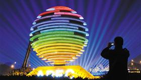 APEC期间北京夜景照明全部开启