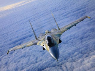 """俄罗斯su-35""""超侧卫""""战机"""
