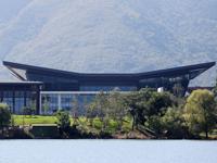 2014 APEC会议召开在即 雁栖湖景区靓装迎宾客[组图]