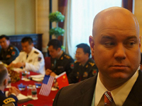 "APEC会议保镖:鲜为人知的""影子""传说[组图]"