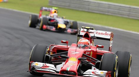 F1巴西站排位赛赛况